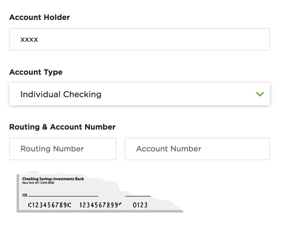 Adding US Bank details in Upwork
